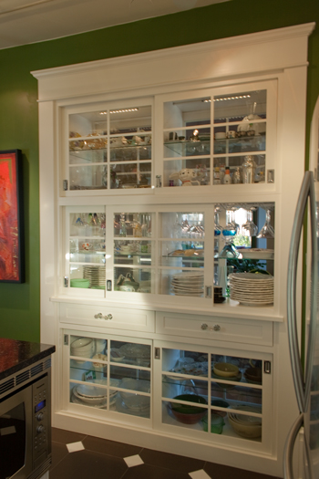 custom-double-sided-cabinet-victoria | O'Brien Woodworking