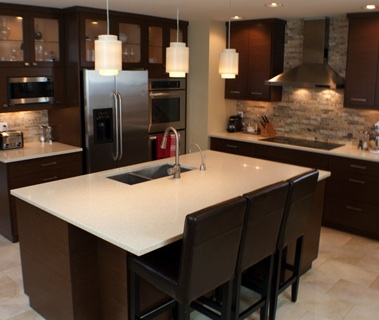 Custom Kitchen Cabinets Designs modern custom kitchen | o'brien woodworking